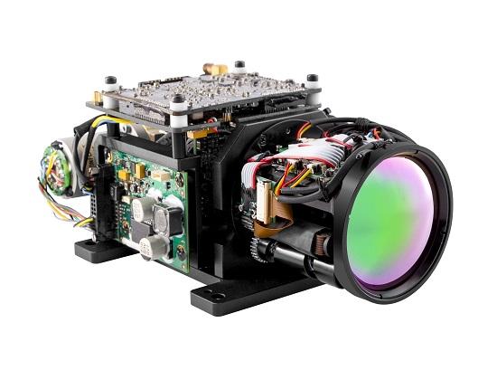 小型中波制冷型热像机芯
